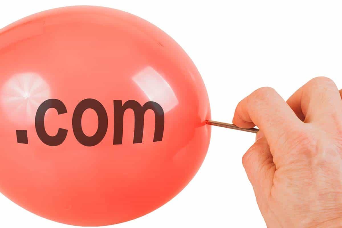 dot com bubble our story